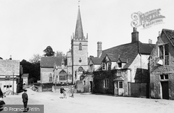 Lacock, The Village And Church Of St Cyriac 1904