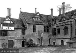 Lacock, View In Abbey Courtyard c.1955
