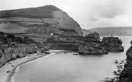 Ladram Bay, And Peak Hill 1925