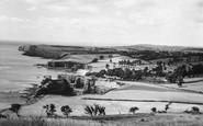 Ladram Bay, From High Peak c.1960