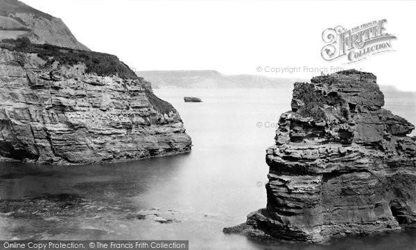 Ladram Bay photo