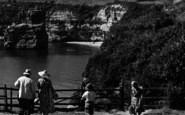 Ladram Bay, Path From Three Rocks Cafe c.1950