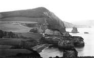Ladram Bay, Peak Hill 1918