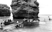 Ladram Bay, The Ferry c.1965