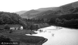 Ladybower, Reservoir And Derwent Dam c.1955, Ladybower Reservoir