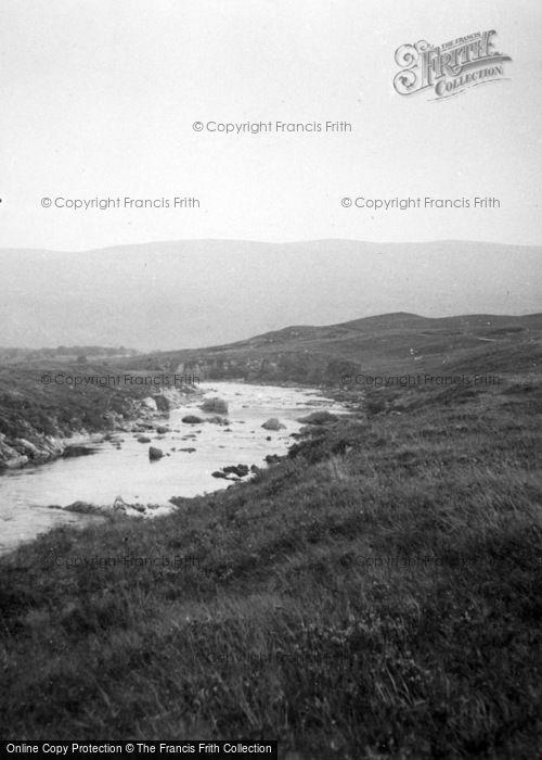 Photo of Lairg, River At Oykel Bridge c.1935