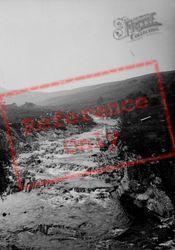 River At Oykel Bridge c.1935, Lairg