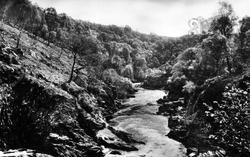 River Shin From Shin Falls c.1939, Lairg