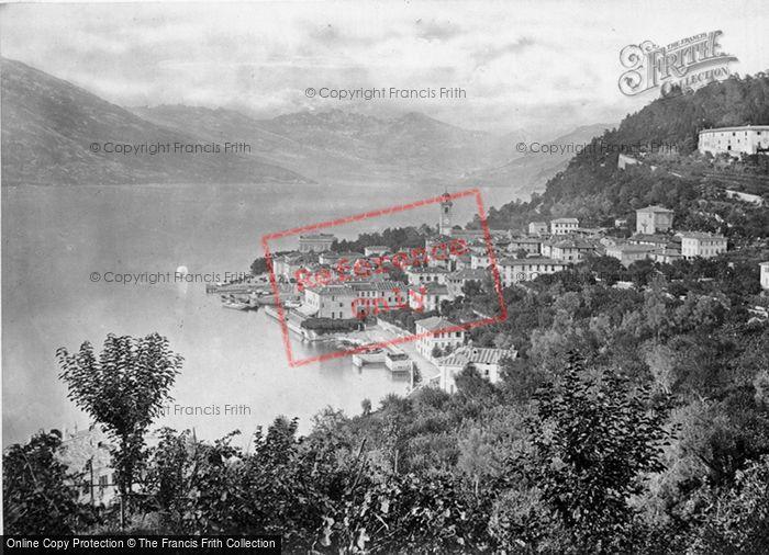 Photo of Lake Como, Bellaggio c.1860