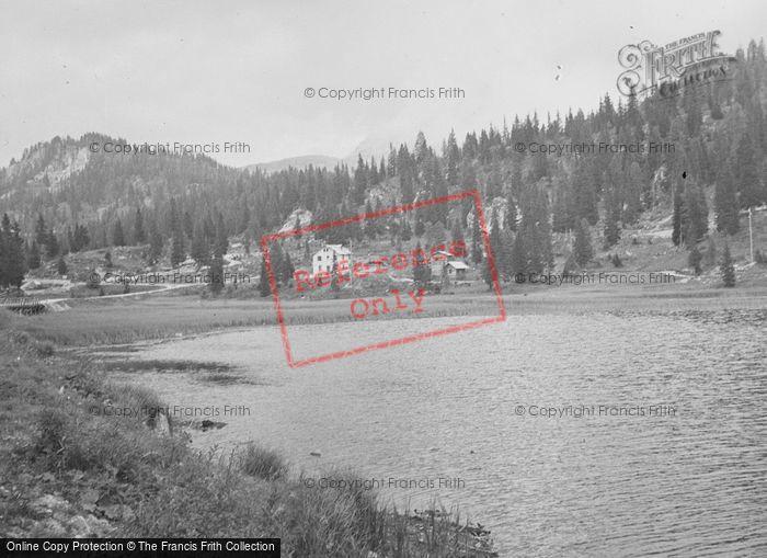 Photo of Lake Misurina, c.1938