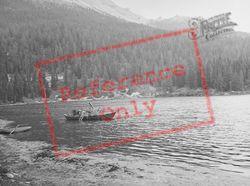 Fishing Boat c.1938, Lake Misurina