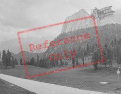 Mountain View c.1938, Lake Misurina