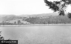 Lake Vyrnwy, And The Hotel c.1960