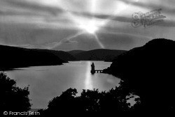 Lake Vyrnwy, At Sunset c.1955