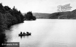 Lake Vyrnwy, Fishing c.1955