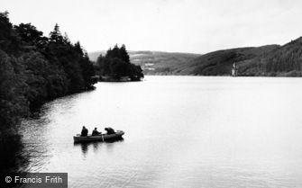 Lake Vyrnwy, Fishing c1955