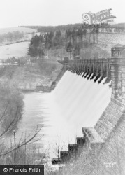 Lake Vyrnwy, The Dam c.1955