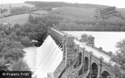 Lake Vyrnwy, The Dam c.1960
