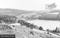 Lake Vyrnwy, The Hotel And Dam c.1955
