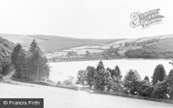 Lake Vyrnwy, The Lake And Dam c.1955