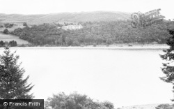 Lake Vyrnwy, The Lake And Hotel c.1955