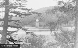 Lake Vyrnwy, The Lake And Tower c.1955
