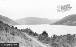 Lake Vyrnwy, The Lake c.1955