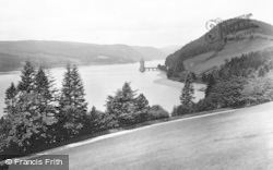 Lake Vyrnwy, The Straining Tower c.1955