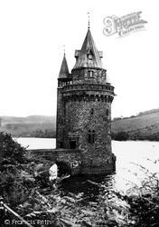 Lake Vyrnwy, The Water Tower c.1955