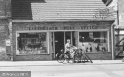 Parking A Bicycle c.1960, Lakenheath