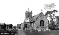 St Mary's Church c.1960, Lakenheath