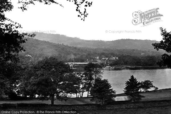 Lakeside, from Fell Foot 1914.  (Neg. 67420)  � Copyright The Francis Frith Collection 2008. http://www.francisfrith.com