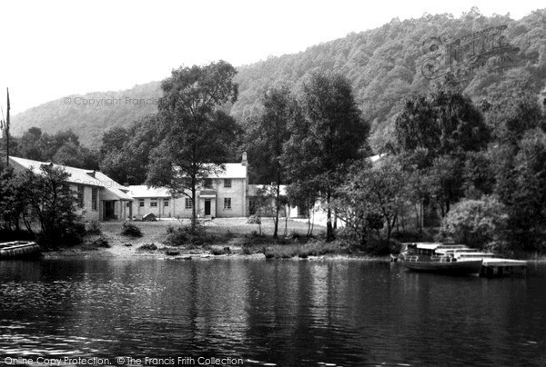 Lakeside, the Y.M.C.A National Camp from the Lake c1960.  (Neg. L455001)  � Copyright The Francis Frith Collection 2008. http://www.francisfrith.com
