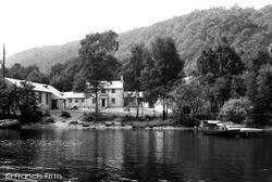 Lakeside, The Y.M.C.A National Camp From The Lake c.1960