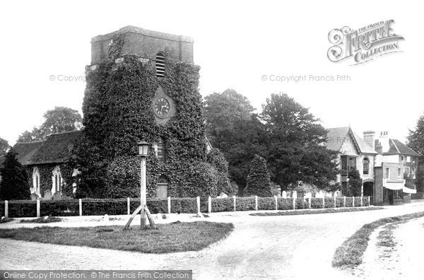 Laleham Church, 1890. Reproduced courtesy of The Francis Frith Collection
