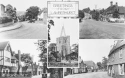 Lamberhurst, Composite c.1955