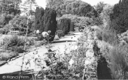 Lamberhurst, Court Lodge, Rose Garden c.1965