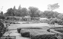 Lamberhurst, Court Lodge, The Gardens c.1955