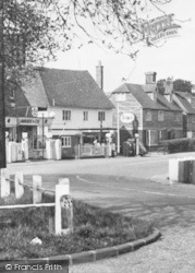 Lamberhurst, Garage By The Green c.1955