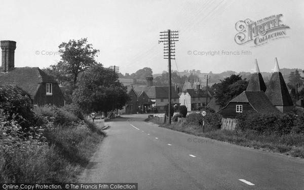 Photo of Lamberhurst, Hastings Road c.1955