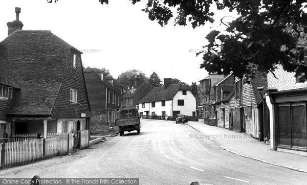 Photo of Lamberhurst, High Street c.1955
