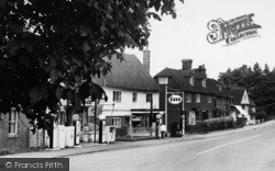 Lamberhurst, High Street Filling Station c.1955