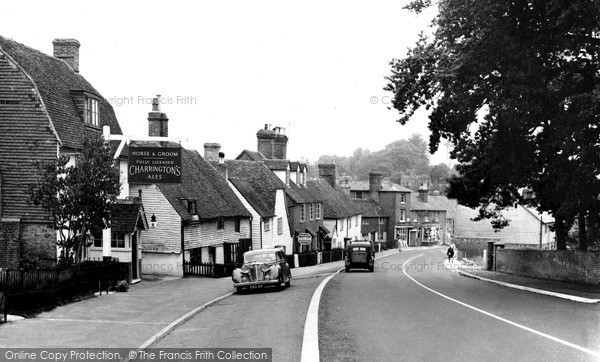 Lamberhurst, Old Hill  c1955