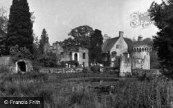 Lamberhurst, Scotney Castle 1953