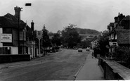 Lamberhurst, the Broadway from the Bridge c1960