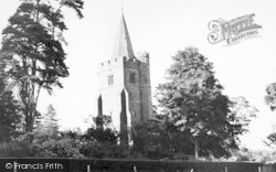 Lamberhurst, The Church Of St Mary The Virgin c.1960