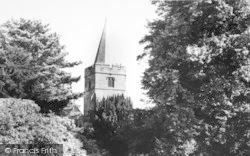 Lamberhurst, The Church Of St Mary The Virgin c.1965