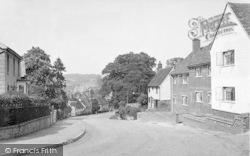 Lamberhurst, The Town Hall c.1955