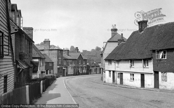 Photo of Lamberhurst, The Village c.1955