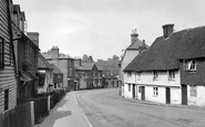 Lamberhurst, the Village c1955